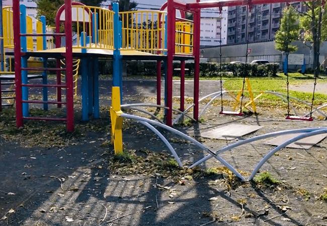 東札幌公園遊具