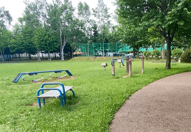 澄川北緑地健康器具