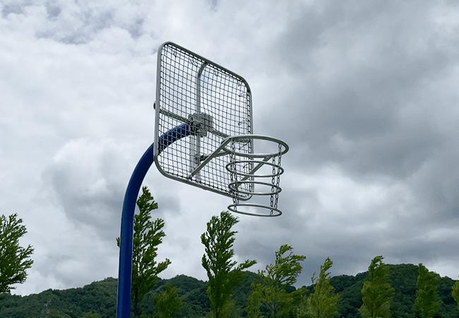 五天山公園バスケットゴール