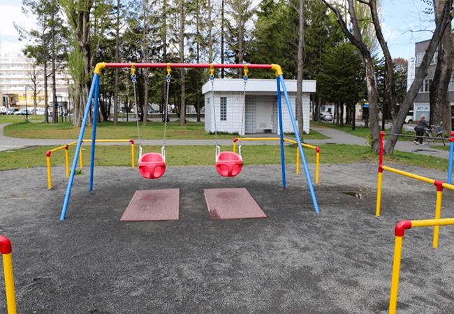 もつき公園遊具