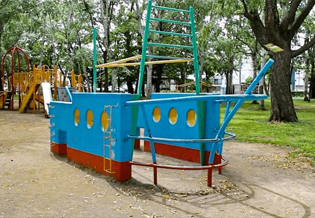 美香保公園遊具