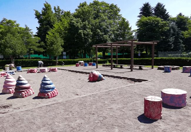 伏古公園砂場