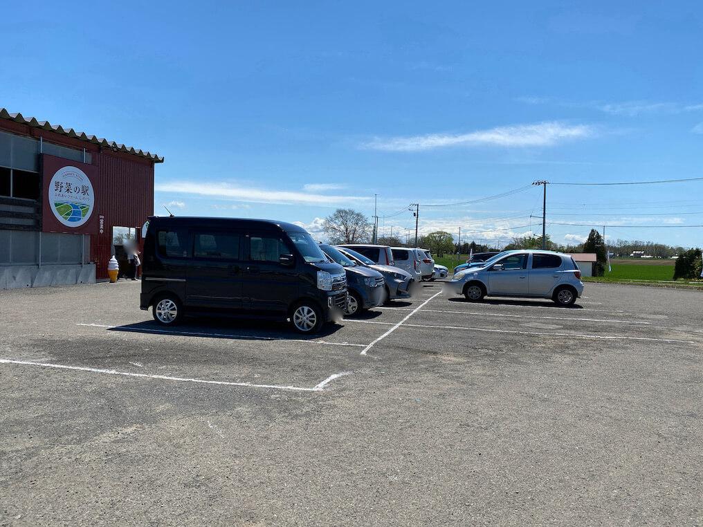 ふれあいファームしのつ 駐車場