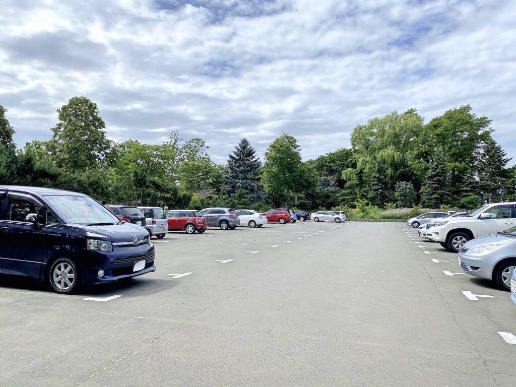 百合が原公園第一駐車場