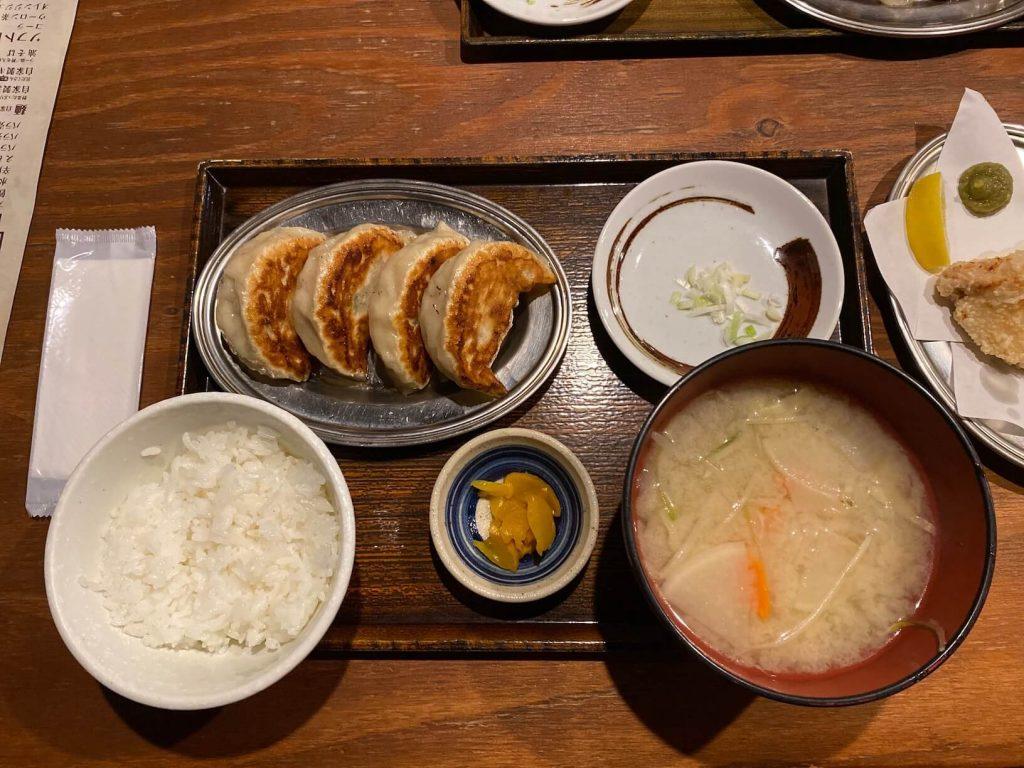 Sapporo餃子製造所 大粒餃子定食