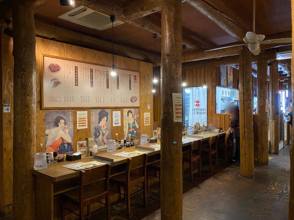 Sapporo餃子製造所 カウンター
