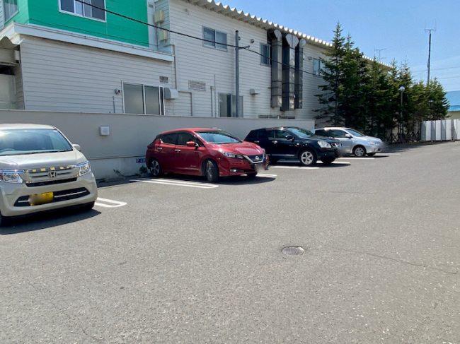 きのとや東苗穂 駐車場