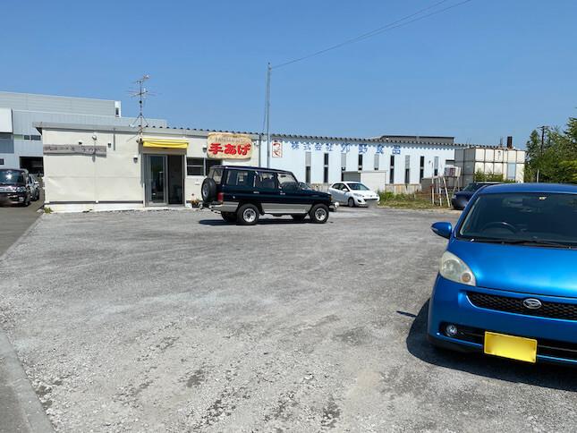 うのや藤井 駐車場